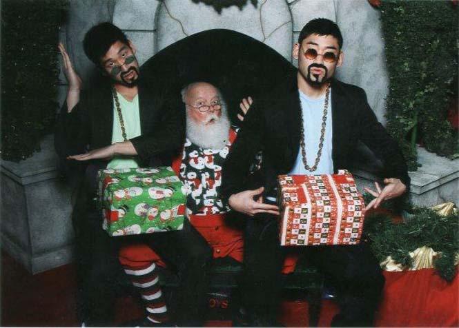 Οι πιο αστείες φωτογραφήσεις με τον Άγιο Βασίλη (1)