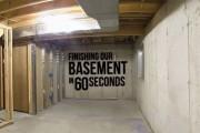 Ολοκληρώνοντας ένα υπόγειο σε 60 δευτερόλεπτα