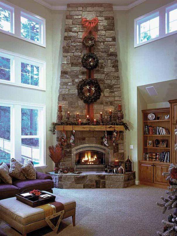 Ονειρεμένα τζάκια στα οποία θα θέλατε να περάσετε τα Χριστούγεννα (4)
