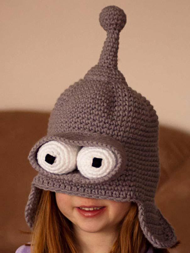 Παράξενα καπέλα και σκούφοι για τον Χειμώνα (17)