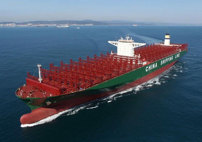 Το μεγαλύτερο πλοίο μεταφοράς containers στον κόσμο   Φωτογραφία της ημέρας