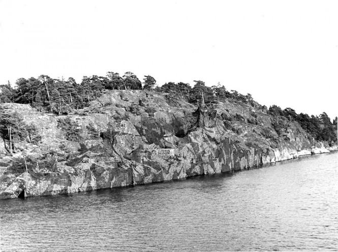 Καμουφλαρισμένο πλοίο του Σουηδικού πολεμικού ναυτικού | Φωτογραφία της ημέρας