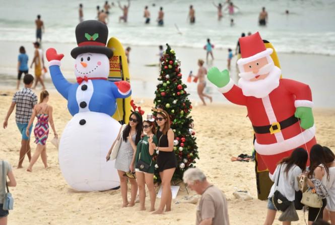 Χριστούγεννα στο Σίδνεϊ... | Φωτογραφία της ημέρας