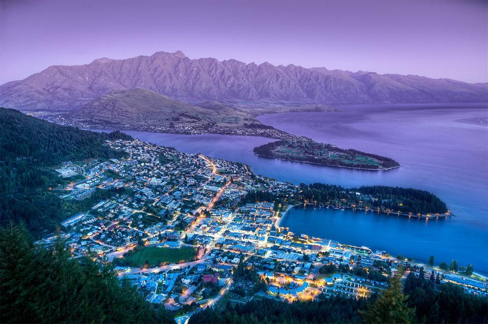 Η πανέμορφη πόλη του Queenstown της Νέας Ζηλανδίας | Φωτογραφία της ημέρας