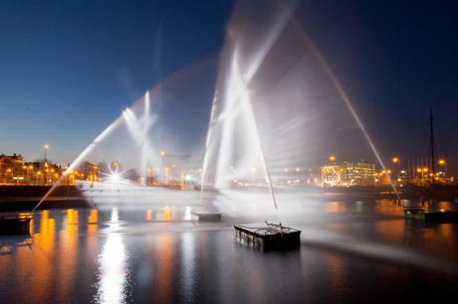 Πλοίο φάντασμα σε κανάλι του Άμστερνταμ (4)
