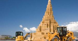 Το ψηλότερο κάστρο του κόσμου στην άμμο (Video)