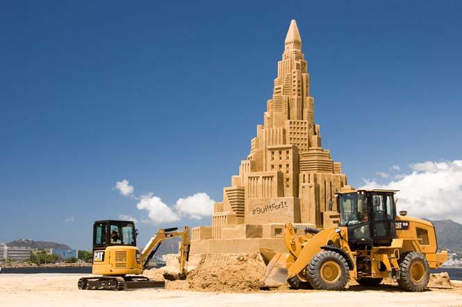 Το ψηλότερο κάστρο του κόσμου στην άμμο (1)