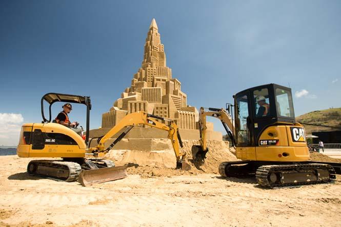 Το ψηλότερο κάστρο του κόσμου στην άμμο (2)