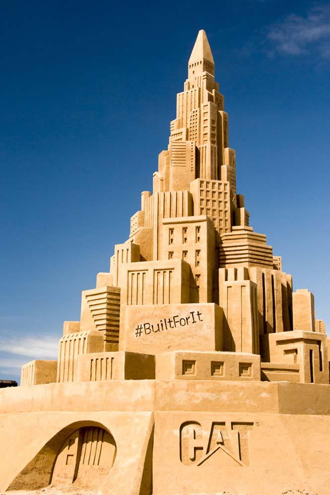 Το ψηλότερο κάστρο του κόσμου στην άμμο (5)