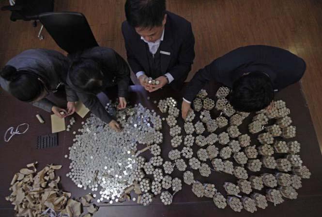 Τραπεζική κατάθεση χρημάτων... βάρους 300 κιλών! (3)