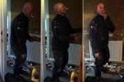 Υδραυλικός συνελήφθη να χορεύει