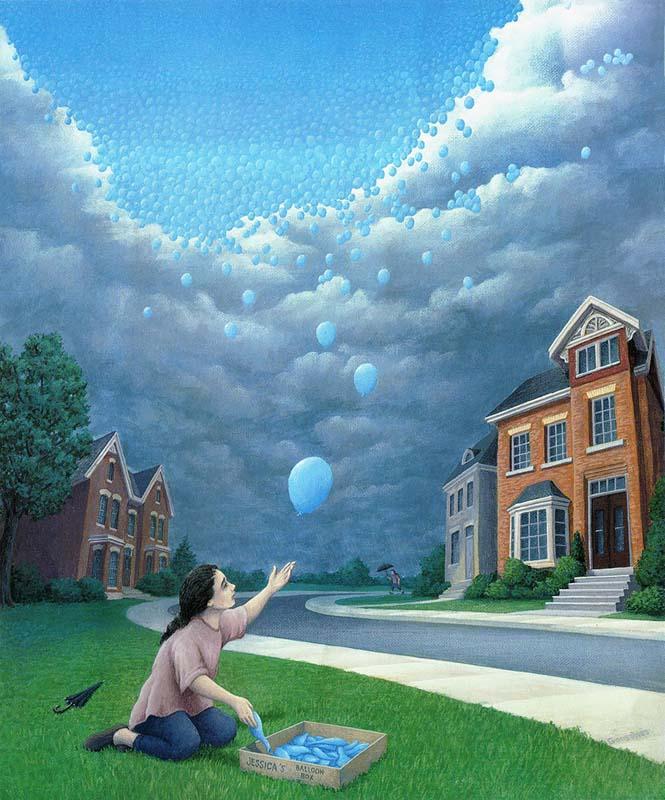 Πίνακες ζωγραφικής - οφθαλμαπάτες που παίζουν με το μυαλό (17)