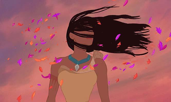 Αν οι πριγκίπισσες της Disney είχαν ρεαλιστικά μαλλιά (16)
