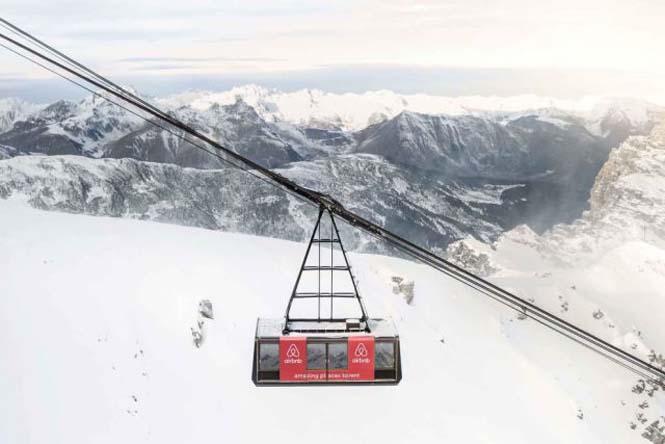 Άνετο υπνοδωμάτιο πάνω από το χιόνι, σε υψόμετρο 2.700 μέτρων (1)