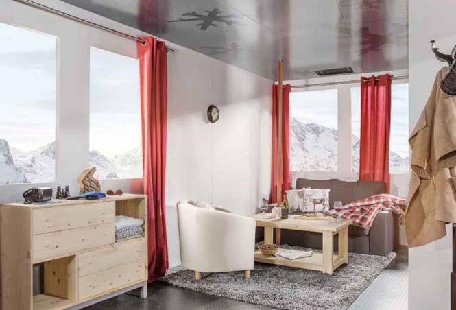 Άνετο υπνοδωμάτιο πάνω από το χιόνι, σε υψόμετρο 2.700 μέτρων (5)