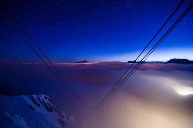 Άνετο υπνοδωμάτιο πάνω από το χιόνι, σε υψόμετρο 2.700 μέτρων (7)
