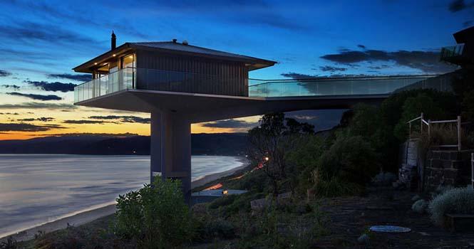 Αυτό το απίστευτο σπίτι στην Αυστραλία μοιάζει σαν να επιπλέει στην θάλασσα (3)