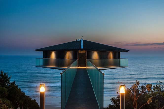 Αυτό το απίστευτο σπίτι στην Αυστραλία μοιάζει σαν να επιπλέει στην θάλασσα (7)