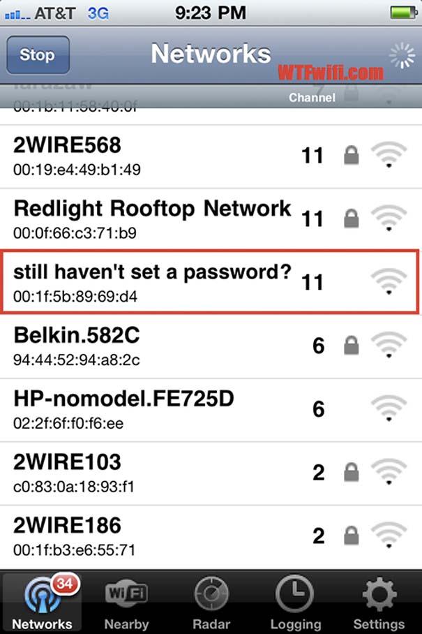 Αστεία και παράξενα ονόματα σε Wi-Fi (18)