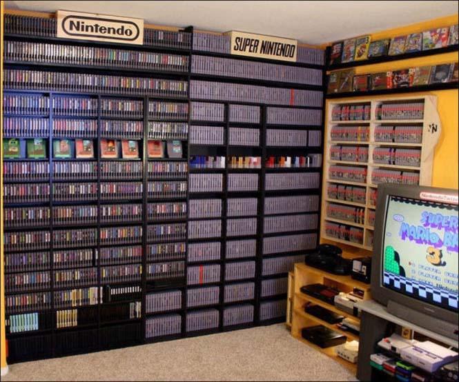 Δωμάτιο - παράδεισος για κάθε retro gamer (2)