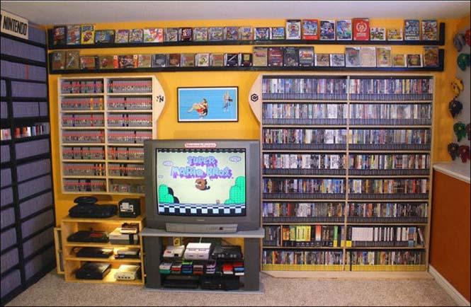 Δωμάτιο - παράδεισος για κάθε retro gamer (3)