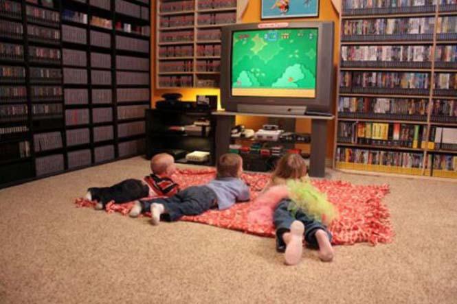 Δωμάτιο - παράδεισος για κάθε retro gamer (7)