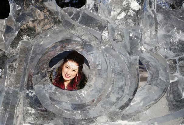Εκπληκτικές δημιουργίες στο φεστιβάλ πάγου της Κίνας (2)
