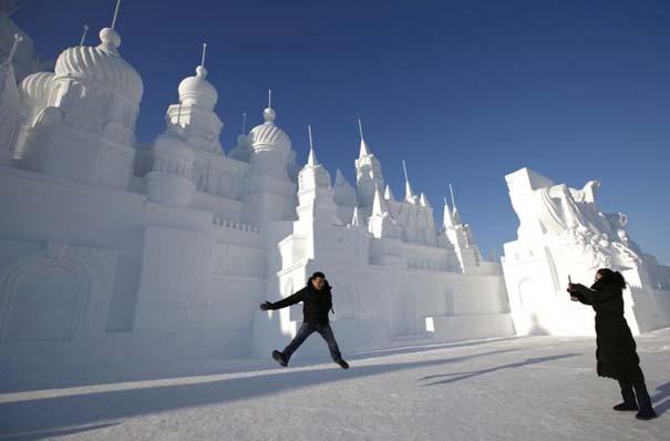 Εκπληκτικές δημιουργίες στο φεστιβάλ πάγου της Κίνας (3)