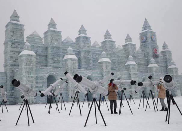Εκπληκτικές δημιουργίες στο φεστιβάλ πάγου της Κίνας (5)