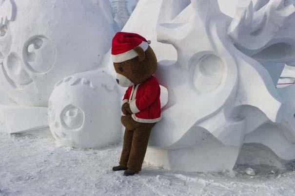Εκπληκτικές δημιουργίες στο φεστιβάλ πάγου της Κίνας (9)
