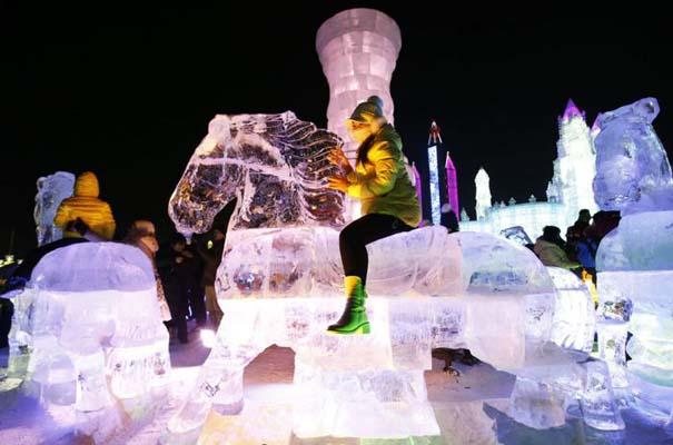 Εκπληκτικές δημιουργίες στο φεστιβάλ πάγου της Κίνας (14)