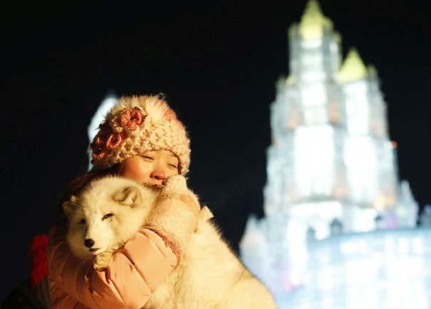 Εκπληκτικές δημιουργίες στο φεστιβάλ πάγου της Κίνας (17)