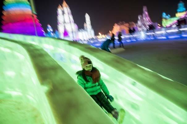 Εκπληκτικές δημιουργίες στο φεστιβάλ πάγου της Κίνας (18)