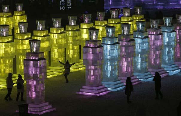 Εκπληκτικές δημιουργίες στο φεστιβάλ πάγου της Κίνας (21)