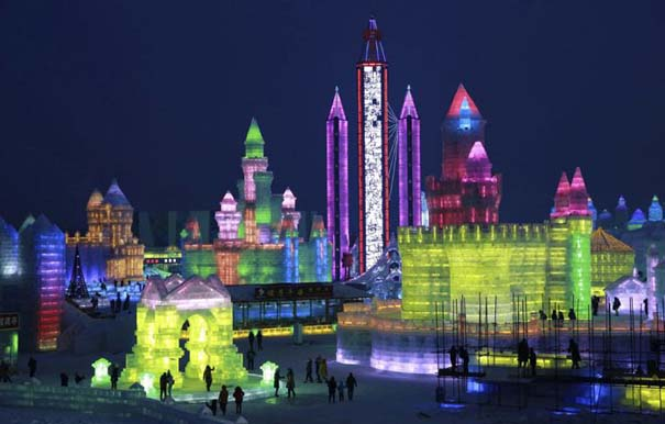 Εκπληκτικές δημιουργίες στο φεστιβάλ πάγου της Κίνας (22)