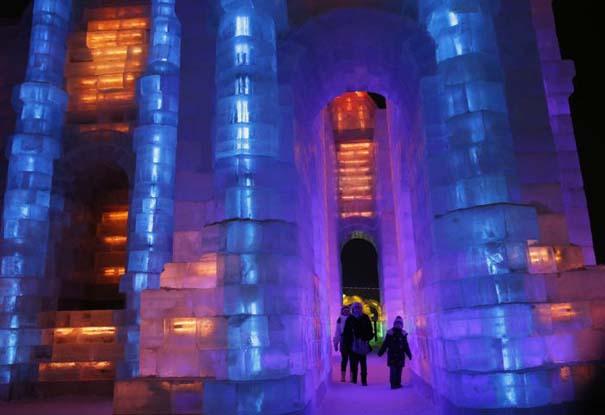 Εκπληκτικές δημιουργίες στο φεστιβάλ πάγου της Κίνας (23)