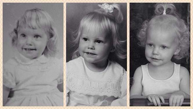 Φωτογραφίες γονιών και των παιδιών τους με απίστευτη ομοιότητα στην ίδια ηλικία (15)