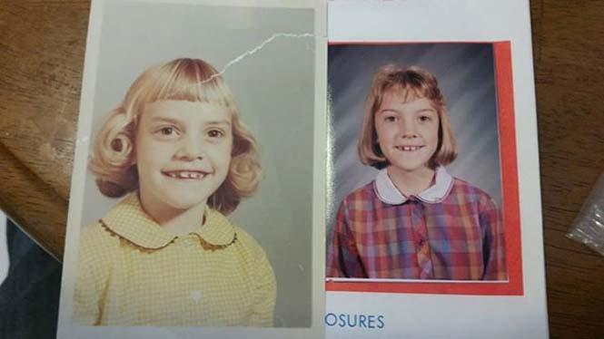 Φωτογραφίες γονιών και των παιδιών τους με απίστευτη ομοιότητα στην ίδια ηλικία (9)