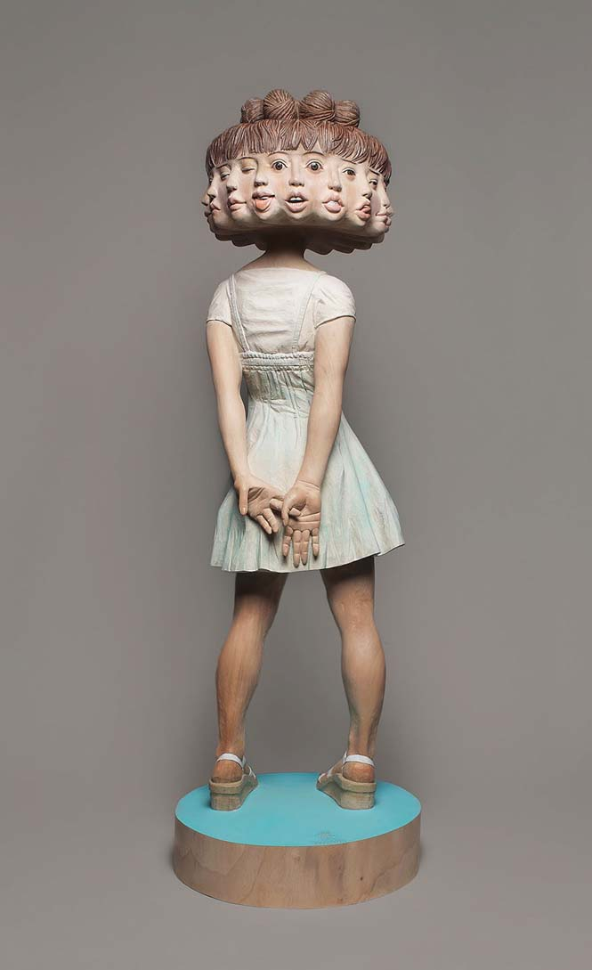 Ιάπωνας γλύπτης δείχνει πως μετατρέπει το ξύλο σε σουρεαλιστικά αγάλματα (10)