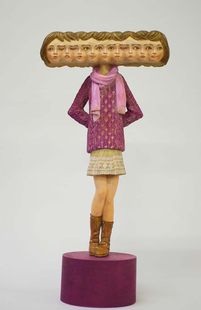 Ιάπωνας γλύπτης δείχνει πως μετατρέπει το ξύλο σε σουρεαλιστικά αγάλματα (12)