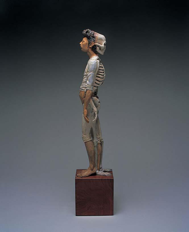 Ιάπωνας γλύπτης δείχνει πως μετατρέπει το ξύλο σε σουρεαλιστικά αγάλματα (16)