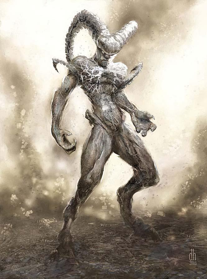 Καλλιτέχνης φαντάζεται τα 12 ζώδια ως μυθικά τέρατα (1)