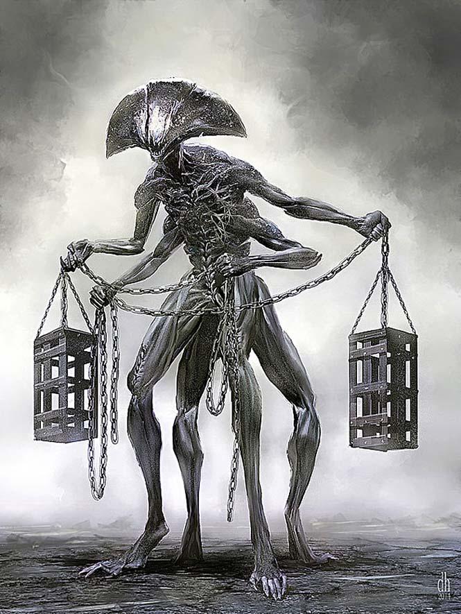Καλλιτέχνης φαντάζεται τα 12 ζώδια ως μυθικά τέρατα (7)