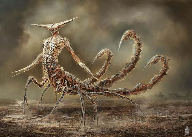 Καλλιτέχνης φαντάζεται τα 12 ζώδια ως μυθικά τέρατα (8)