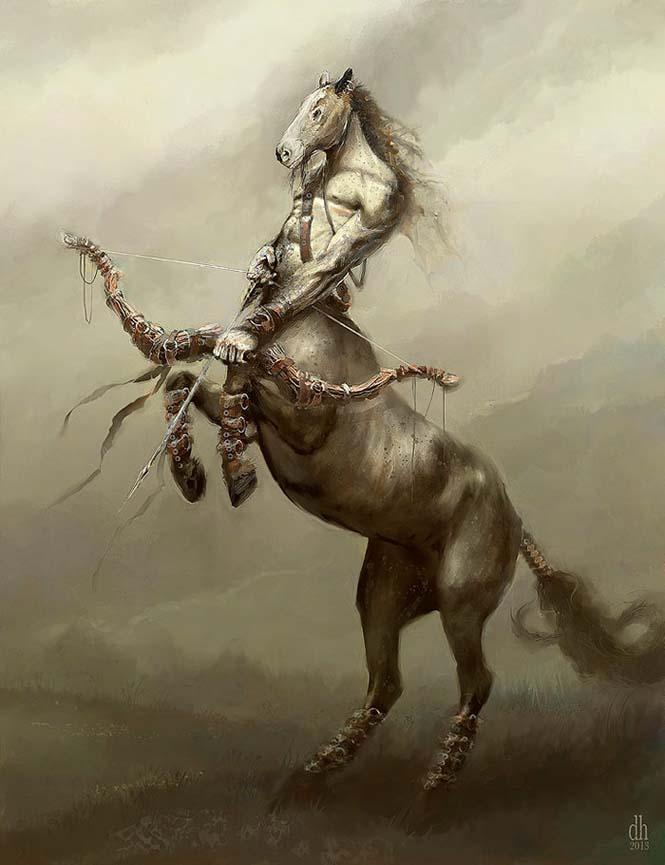 Καλλιτέχνης φαντάζεται τα 12 ζώδια ως μυθικά τέρατα (9)
