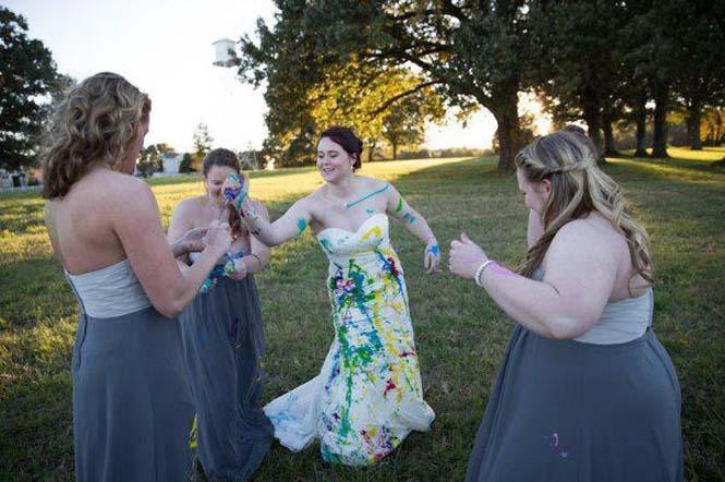 Όταν ο γαμπρός την παράτησε στα σκαλιά της εκκλησίας, αυτή η νύφη αποφάσισε να το διασκεδάσει (4)