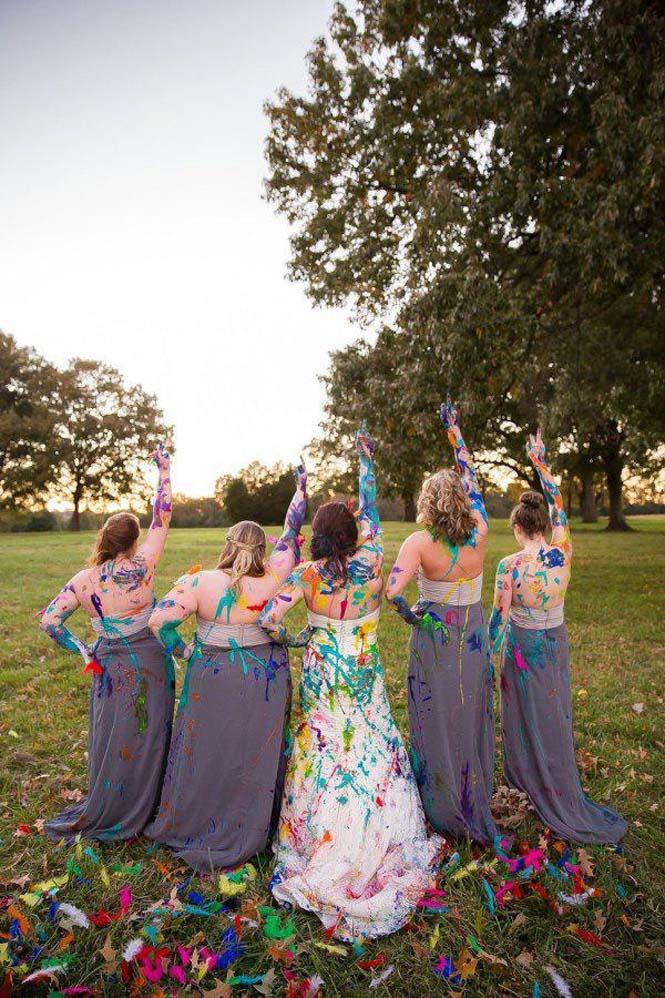 Όταν ο γαμπρός την παράτησε στα σκαλιά της εκκλησίας, αυτή η νύφη αποφάσισε να το διασκεδάσει (23)