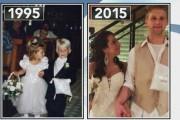 Παρανυφάκια στον ίδιο γάμο παντρεύτηκαν 20 χρόνια αργότερα