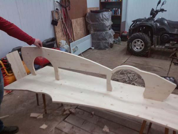 Πατέρας κατασκεύασε το τέλειο κρεβάτι για τον γιο του (9)