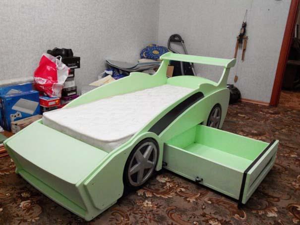 Πατέρας κατασκεύασε το τέλειο κρεβάτι για τον γιο του (28)